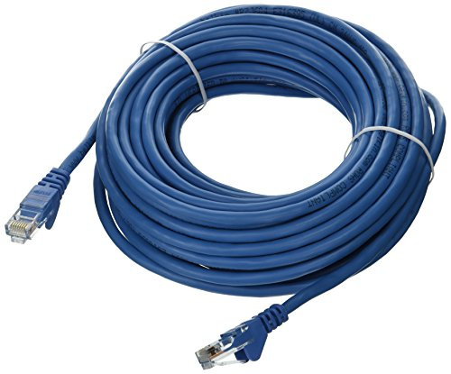 Belkin CAT5E Blue Patch Cord Snagless - 40ft Blue Snagless Cat5e Cable