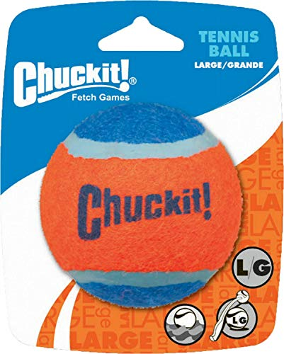 Chuckit! Tennis Ball Dog Toy, Large, 12 Pack
