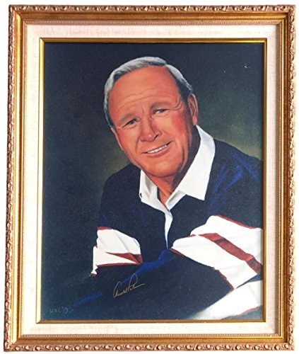 Arnold Palmer Signed Photo - Arnold Palmer Signed Framed 16x20 Portrait Photo BAS A74535