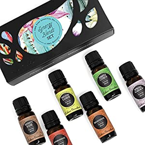 Ratings and reviews for 6 Synergy Sampler Pack Pure Therapeutic Grade Essential Oil Gift Set by Edens Garden- 6/10 ml (Anxiety Ease, Aphrodisiac, Breathe Easier, Meditation, Simply Citrus, Spring Garden)