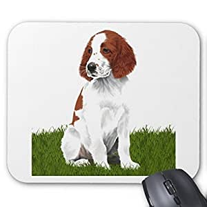 Pillow Perfect Office Mousepads Irish Red And White Setter Puppy Mouse Pad