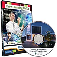 Easy Learning Creating and Rendering Exterior Visualizations in 3ds Max Video Tutorial (DVD)