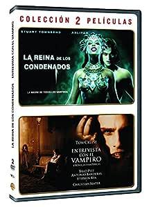 Pack: Entrevista Con El Vampiro + La Reina De Los Condenados DVD: Amazon.es: Brad Pitt, Tom Cruise, Antonio Banderas, Stuart Townsend, Aaliyah, Neil Jordan, Michael Rymer, Brad Pitt, Tom Cruise, Su Armstrong,