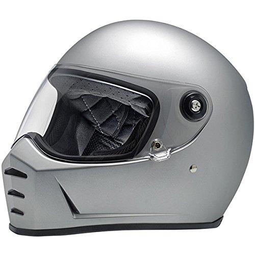 Biltwell ビルトウェル LANE SPLITTER HELMET 2017モデル ヘルメット フラットシルバー M(57~58cm) B072X6N7QC