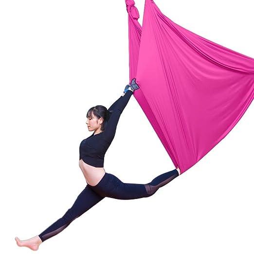 Yoga Fitness y Ejercicio Hamaca Cama Elástica con Cinturón ...