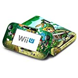 The Legend of Zelda Four Swords Decorative Decal Cover Skin for Nintendo Wii U Console and GamePad