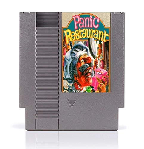 BrotheWiz 72 pin 8 bit game Panic restaurant 8 Bit Game Card for 72 Pins Game Console