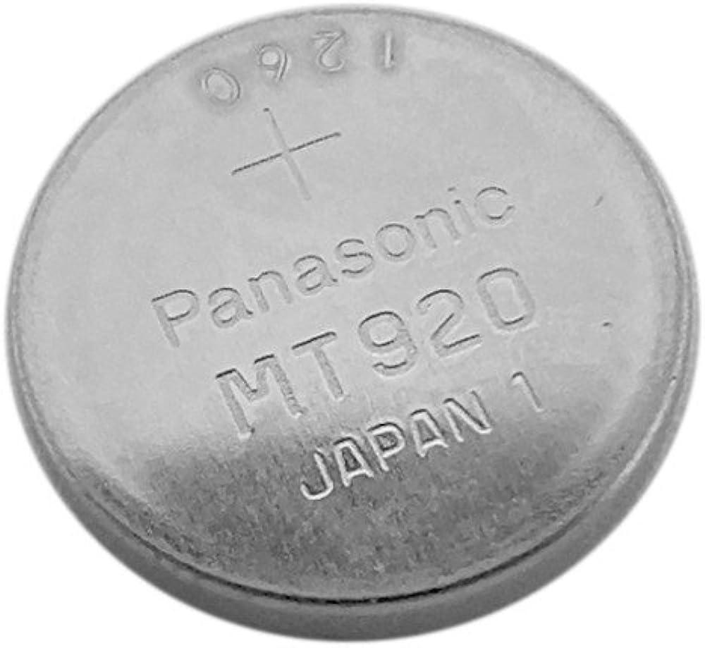 Panasonic VL-2020-HFN batería mt920Lithium cabe en Solar Casio Relojes Modelos 10233316