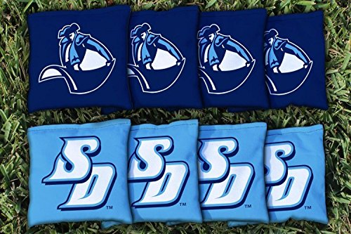 8 San Diego University Toreros Regulation All Weather Cornhole Bags