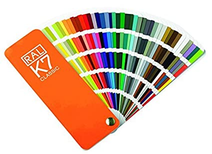 amazon ral k7 カラーチャート ral正規品 偽造防止ラベルあり