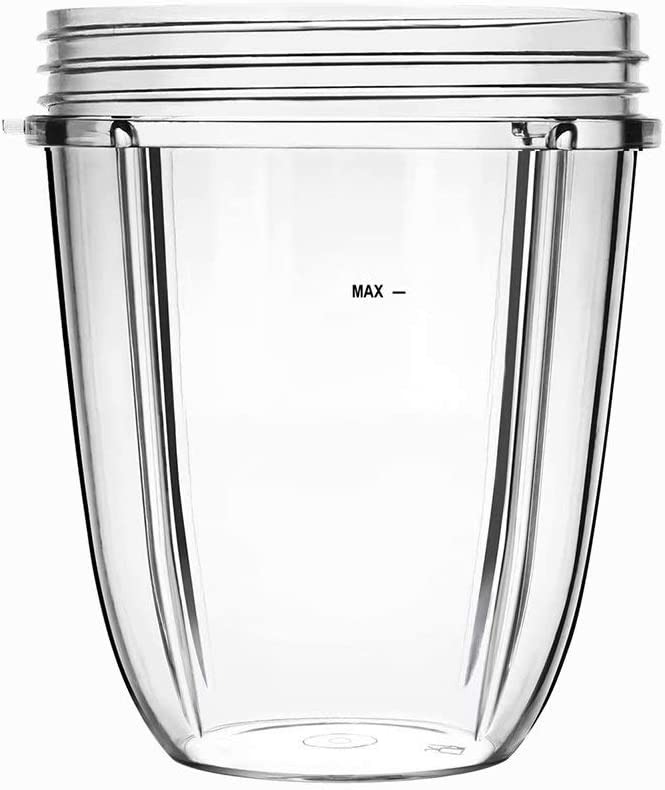 Blender Replacement 18oz Cup for Nutri 600W / Nutri Pro 900W Bullet Blender Mixer ,Juicer Parts Accessories