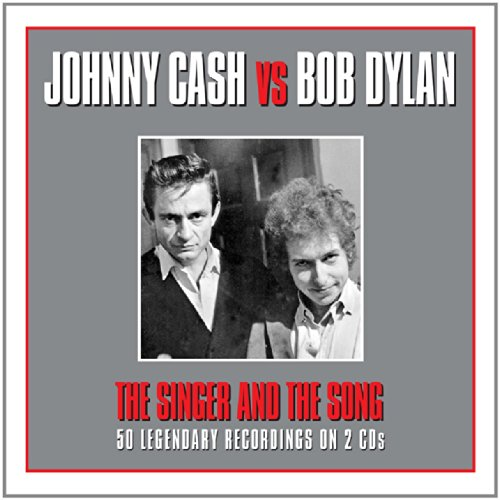 Johnny Cash - The Singer And The Song - Johnny Cash And Bob Dylan - Zortam Music