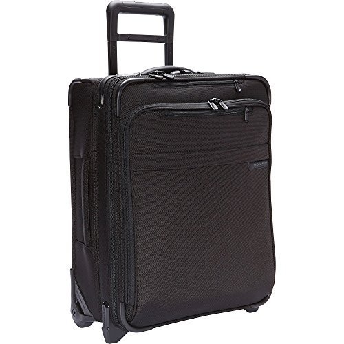 Briggs & Riley Baseline International Wide Body Upright Carry-On (One Size, Black) by Briggs & Riley