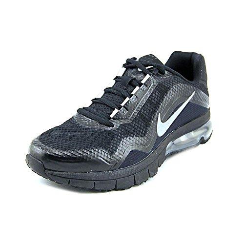Herre Nike Air Max Tr 180 Træning Sko Sort / Sort / Metallisk Sølv / Reflektere Sølv Blk hJqv7g5z