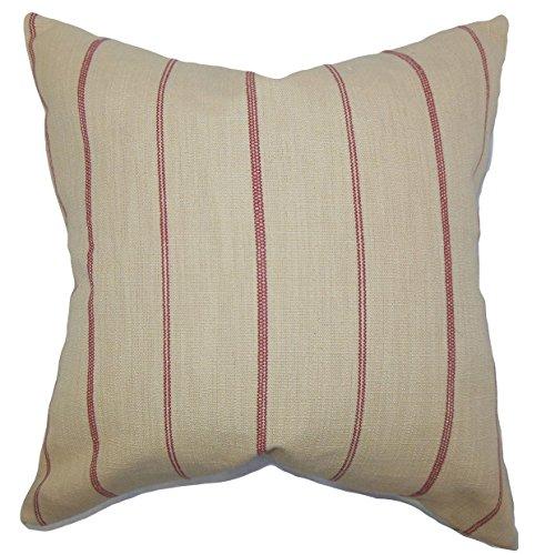 - The Pillow Collection Fairfax Stripes Throw Pillow Cover