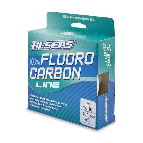 Hi seas 100 fluorocarbon line for Hi seas fishing line