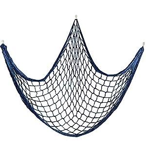 51l2xgz4CWL._SS300_ Nautical Fish Net Decor