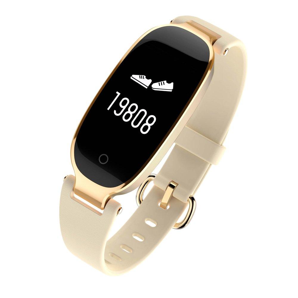 Kapel Pulsera de Actividad para Mujer IP67 Bluetooth 4.0 Pantalla Táctil de Color OLED Batería 90mAh Podómetro, Monitor de Presión, Monitor de Sueño, ...