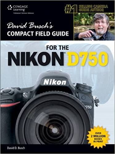 David Busch's Compact Field Guide for the Nikon D750: Amazon