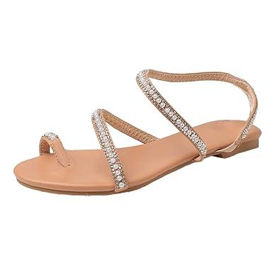 Femmes Mode D'été Fête Perles Sandales Chaussures Sexy Perlées 0wPkn8O