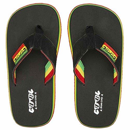 Rasta Nesta Cool Ltd Chanclas Negro Original UHRZqwx6