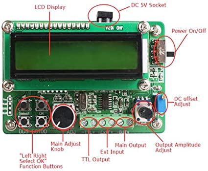 Geeetech SG1005 5MHz Signal Generator Source Module / DDS Function