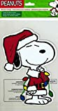 ProductWorks Peanuts Gel Window Cling (Snoopy Lights) by Product Works
