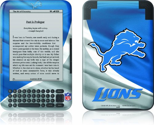 Skinit Kindle Skin (Fits Kindle Keyboard), Detriot Lions