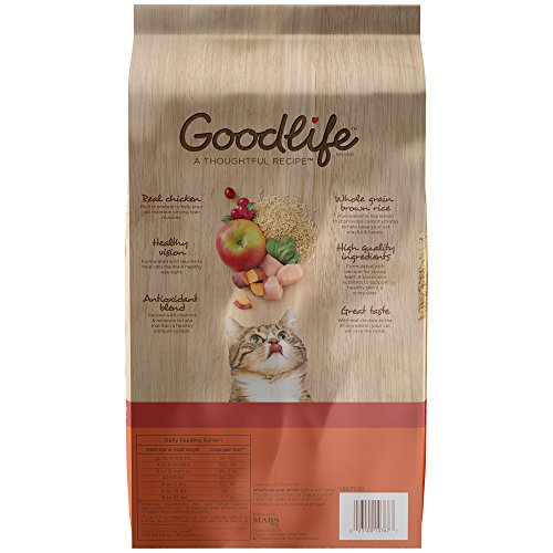 Goodlife Adult Dry Cat Food Chicken Recipe  Lbs