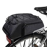Roswheel Multifunction Saddle Bag Seat Bag Bicycle Sport Outdoor Rear Seat Trunk Bag Back Shoulder Handbag, 8L