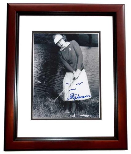 Betty Jameson Autographed Photo - 8X10 Inch Mahogany Custom Frame Guaranteed To Pass Or Jsa - Psa/Dna Certified