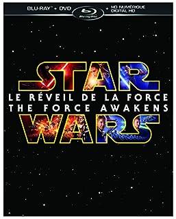 Star Wars: Le Réveil de la Force [Blu-ray + DVD + HD numérique] (Bilingual) (B018FK66V8) | Amazon Products