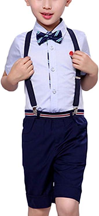 Niños Blusas Pantalones Traje De Caballero Vestido De Niña De ...