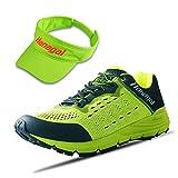 HANAGAL Men's Kenting Trail Running Shoe (Green,Size 10)