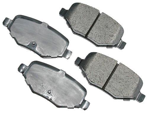 Akebono ACT1377 ProACT Ultra-Premium Ceramic Brake Pad Set