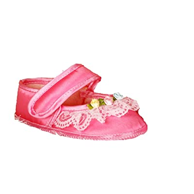 Cinda Baby Girls' Polyesters Rose Shoes
