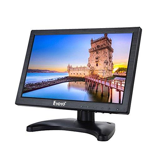 Eyoyo 10'' IPS LCD HD Camera Video Screen Monitor HDMI VGA AV BNC Banking DVD PC (1280x800) by Eyoyo