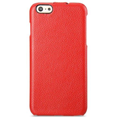"""Melkco Jacka Type funda de piel premium para Apple iPhone 6 / 6S Plus 5.5"""" - Rouge LC"""