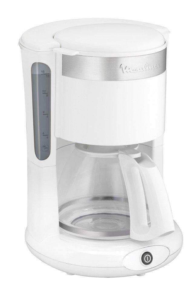 Acquisto Moulinex Principio Plus FG264100 – Caffettiera, 22,20 x 25,6 x 34,5 cm, colore: Bianco/acciaio INOX Prezzi offerta