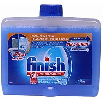 Amazon Com Finish And Jet Dry Dishwasher Cleaner 8 45