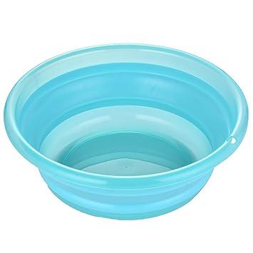Amazoncom Foot Tub Round Fold Thick Washbasin Household Plastic
