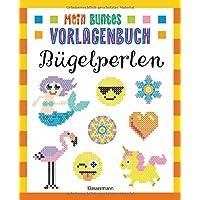 Mein buntes Vorlagenbuch - Bügelperlen. Über 200 Motive: Von Affe bis Zwerg. Mit Lama, Einhorn und Emojis