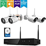 xmartO 8 Channel Expandable Wireless Security Camera System