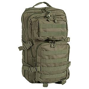 51l30mL%2B0FL. SS300  - Mil-Tec MOLLE Tactical Assault Backpack - Large 36 Litre (Olive Drab)