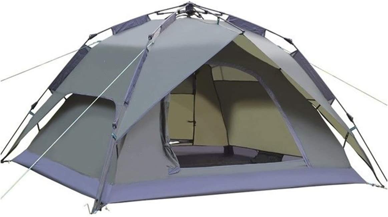 Logo KYBHD Automatische Camping Tent Dubbeldekker Direct Installatie 3-4 Personen Familie Tent duurzaam Olijf