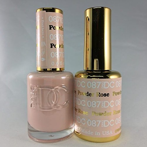 DND DC Duo Gel + Polish - 087 Rose Powder