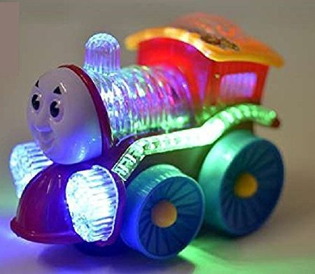Glance Best Musical Engine Toy with Music, Lights and Moving Action ,Multicolor