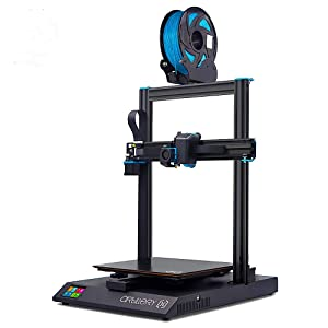 Artillery Sidewinder X1 3D Printer V4 Newest Model 95% Pre-Assembled 300x300x400mm, Reset Button Dual Z Axis Ultra-Quiet Printing 0.6mm Direct Drive Extruder Filament Runout Detection & Recovery
