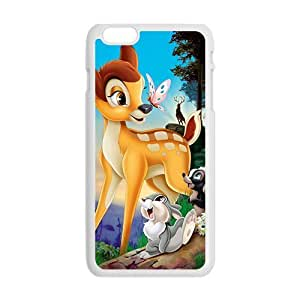 Happy Bambi Case Cover For iPhone 6 Plus Case