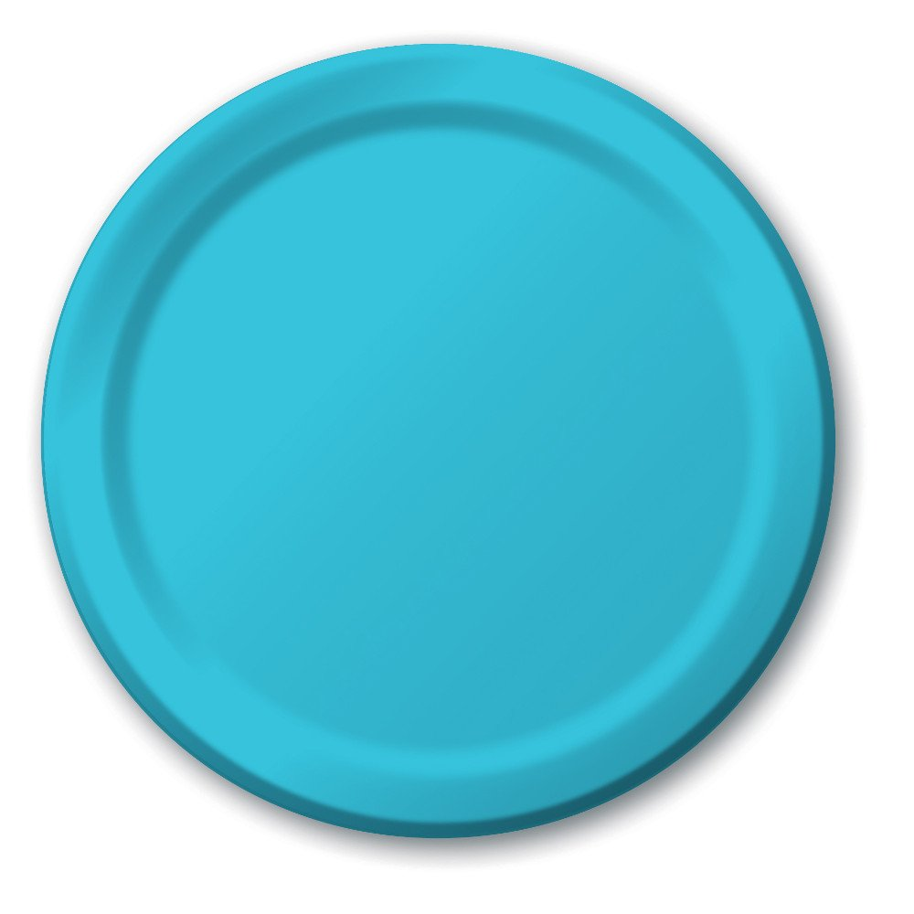Creative Converting 791039B 24 Count Paper Dessert Plates 7'' Multicolor
